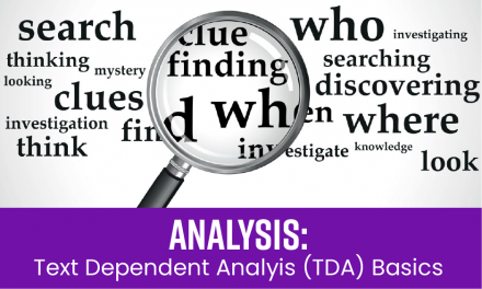 Analysis: TDA Basics