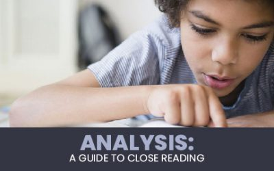 Analysis: A Guide to Close Reading Edit Event