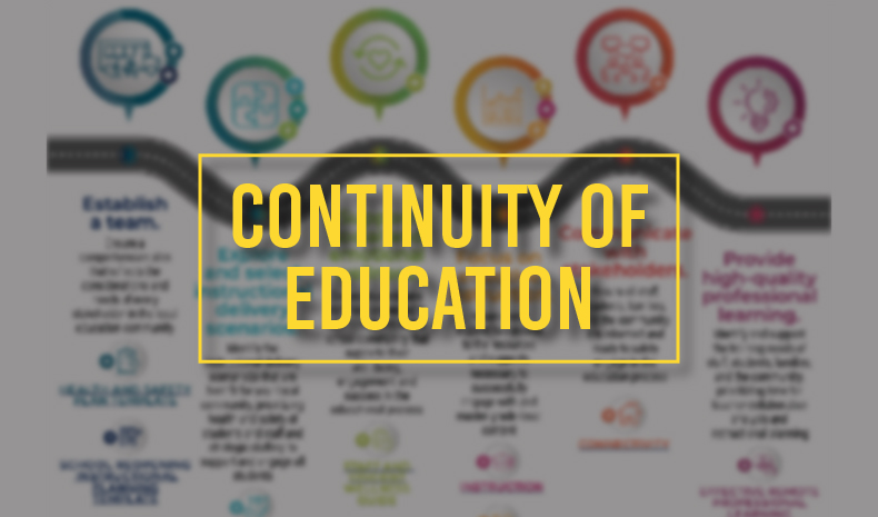 Continuity of Education: The Roadmap for Leaders