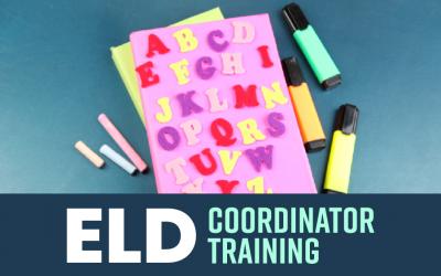 ELD Coordinator Training
