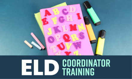 ELD Coordinator Training
