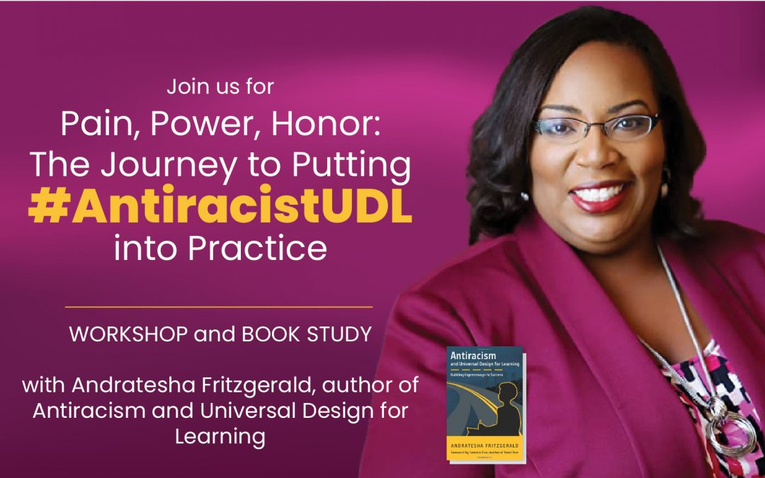 Andratesha Fritzgerald   Workshop and/or Book Study!