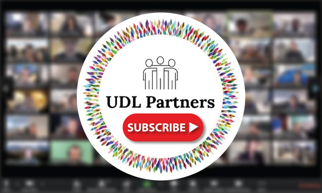 UDL follow on youtube